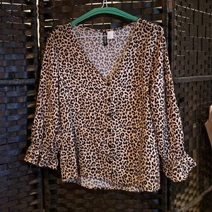 Leapord Blouse